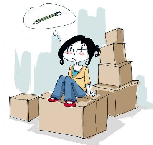 Astuce de déménagement
