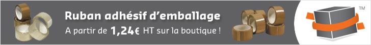 Ruban adhésif carton et emballage à bas prix sur Toutembal.fr