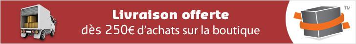 Boutique : Gratuité de la livraison dès 250€ HT d'achats