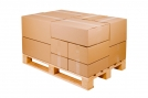 Caisse carton palettisable norme Galia - Simple cannelure - 300x200x200 mm Extérieur