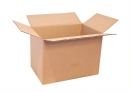 Caisse carton standard simple cannelure 500 x 400 x 350 mm