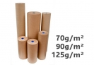 Papier kraft naturel marron - 90 g/m² - 50 cm x 280 m