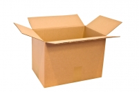 Caisse carton simple cannelure long. moins de 35 cm
